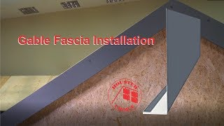 Gable Fescia Installation