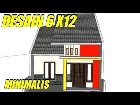 88 Gambar Rumah Minimalis 6 X 12 Terbaik