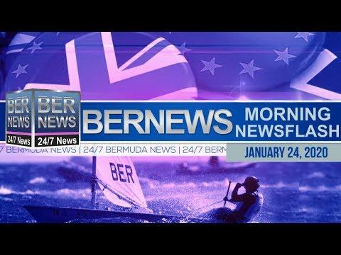 Bermuda Newsflash For Friday, January 24, 2020