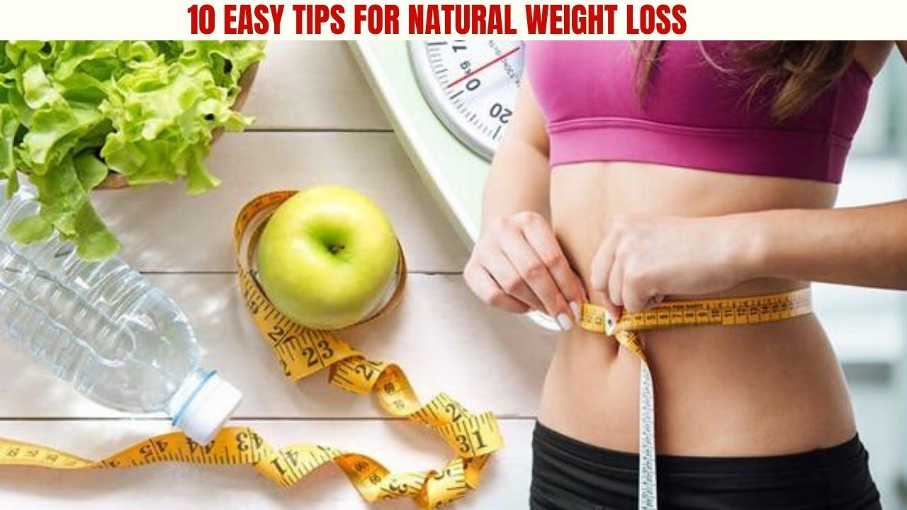 3 Natural Weight Loss Tips – SAM
