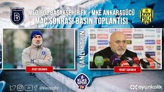 Başakşehir- Ankaragücü Basın Toplantısı ᴴᴰ (CANLI)