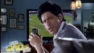 Shahrukh Khan - Dishtv  Ad
