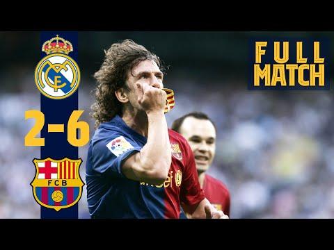 FULL MATCH: Real Madrid 2 - 6 Barça (2009) THE LEGENDARY 2-6 IN #ELCLÁSICO!