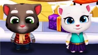 Говорящий Кот Том ЗА ЗОЛОТОМ #17 Мой  питомец Игровой Мультик игра видео для детей мультфильм