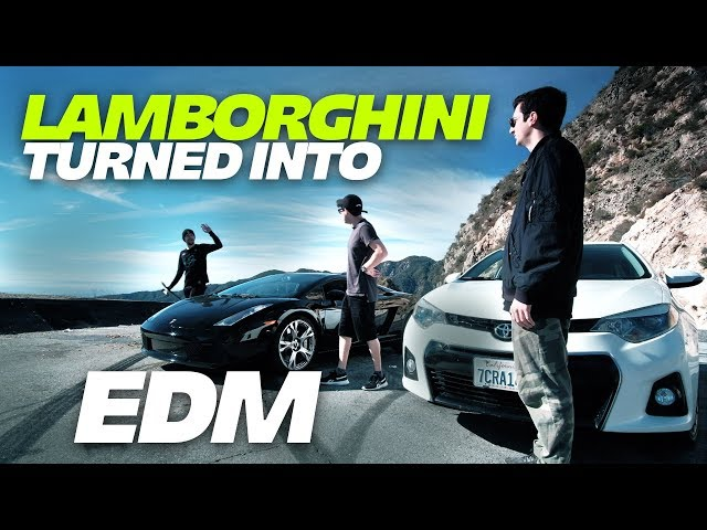Disciple Artists Turn A Lamborghini Into An Edm Track Watch Your Edm