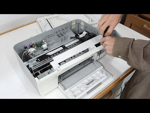 Un-building an ink jet printer