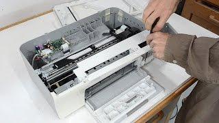 Un-building an ink jet printer