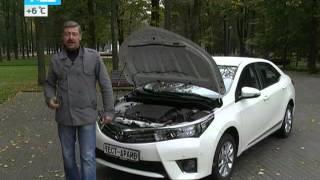 Тест-драйв обновленной Toyota Corolla