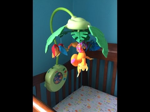 The Best Crib Mobile!  Review of Fisher Price Rainforest Musical Mobile