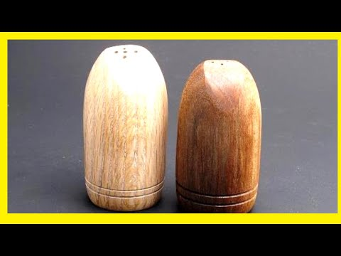 How to Turn a Salt and Pepper Shaker