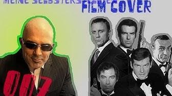 Meine selbsterstellten, alternativen DVD Cover zu den James Bond Filmen