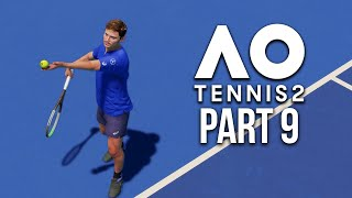 AO TENNIS 2 Career Mode Part 9 - GREATEST COMEBACK EVER !!!