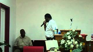 APOSTLE GREG WRIGHT AT SANCTUARY OF GOD RIVIERA BEACH FLA APRIL 12 2012
