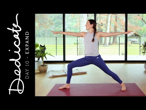 Dedicate - Day 10 - Expand  |  Yoga With Adriene