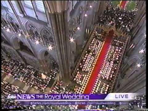 Prince William and Catherine Royal Wedding