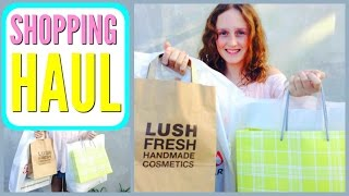 Shopping HAUL 2016! - Summer Clothes, LUSH, and More!
