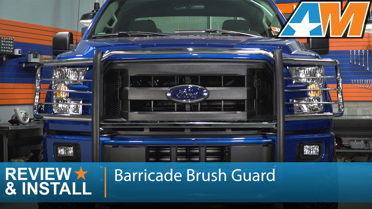 2018 F150 Review >> 2015-2017 Ford F-150 Barricade Brush Guard Review & Install - YouTube