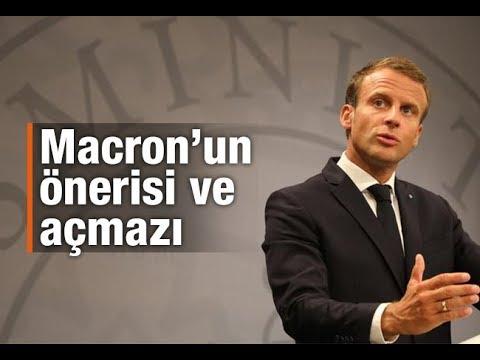 Burhanettin Duran : Macron'un önerisi ve açmazı