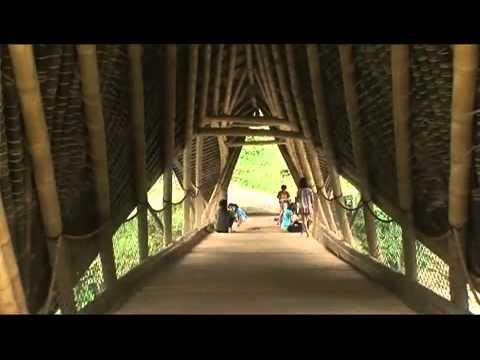 Bamboo Architecture Green School, Bali.mp4