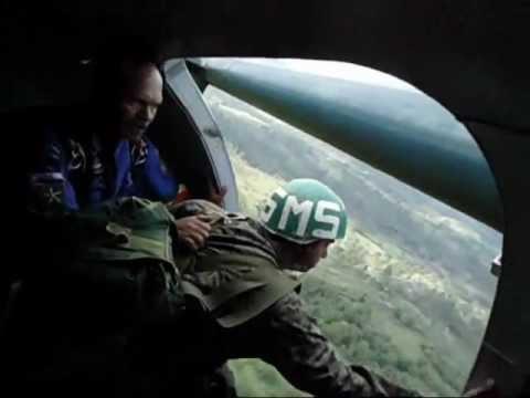 Paracaidista Militar Honduras (Mi salto a la puerta del Arava)