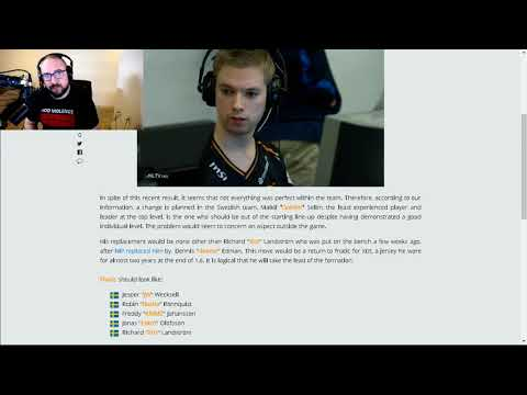 Stream Highlight: Reaction To Golden's Removal