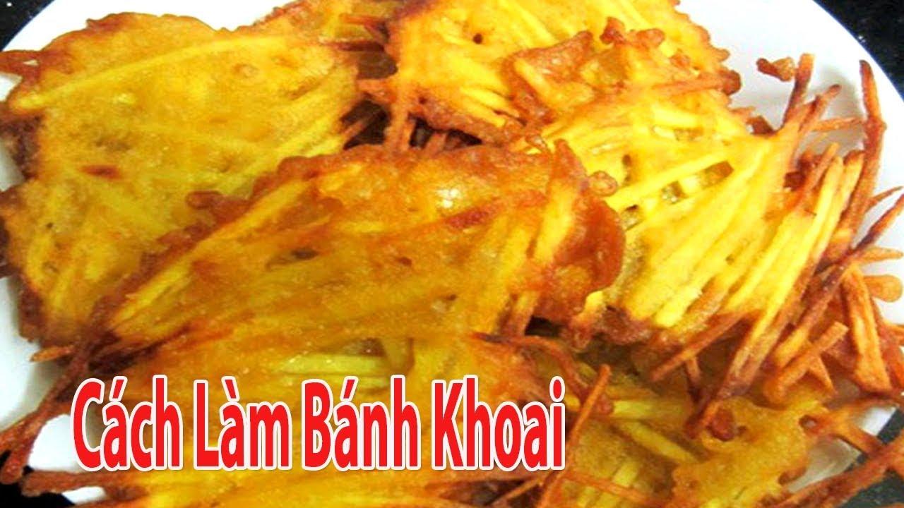 Bánh Khoai Giòn Ngon Vừa Dễ Làm Vừa Dễ Ăn Quá Tuyệt | Góc Bếp Nhỏ