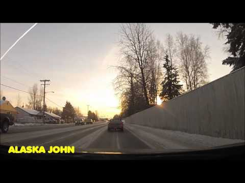 ANCHORAGE DRIVE – Downtown to Thai Orchid Restaurant – GOPRO