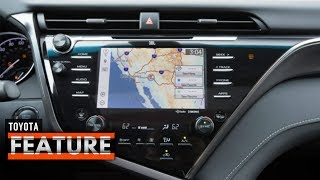 2018 TOYOTA CAMRY INFOTAINMENT SYSTEM