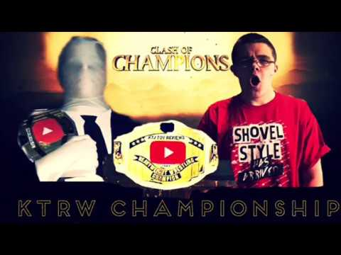 My message to slender man! KTRW clash of champions July 22nd 2018 main event hype