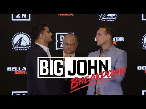 Bellator 206: Big John Breakdown - Gegard Mousasi vs. Rory MacDonald