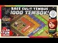 Base KERAS CoC 1000 TEMBOK Ini SULIT TEMBUS!! | CFC Indonesia