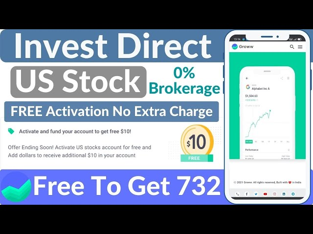 How to activate US stocks in groww app and Earn $10 Absolutely Free with 0  Brokerage Charges
