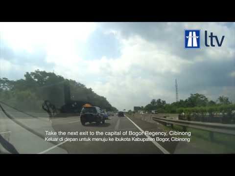 Jalan Tol Jakarta Bogor Ciawi (Jagorawi)   Jagorawi Toll Road Northbound