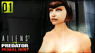 Aliens VS Predator 2 : Primal Hunt | ALIEN PILOTS AND PARTIAL NUDITY  (Corporal Campaign Part 1)