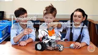 Inventor@   Registra tus Invenciones y Creaciones en Blockchain   www.Solvaip.com