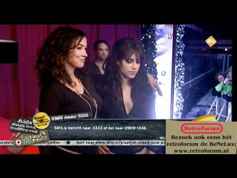 SR2010: Katja Schuurman zoent met Ellen ten Damme  3FM Serious Request 2010