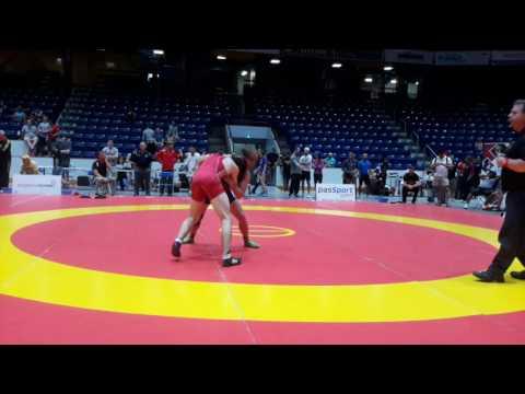 2016 Canada Cup: 65 kg Erik Joy (CAN) vs. Michael Asselstine (CAN)