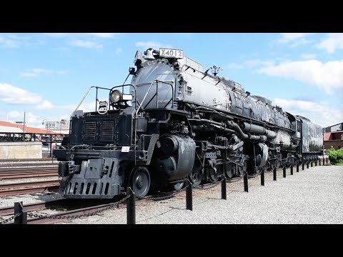 Scranton, Pennsylvania - Steamtown National Historic Site - Full Tour HD (2017)