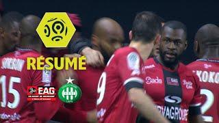 EA Guingamp - AS Saint-Etienne (2-1)  - Résumé - (EAG - ASSE) / 2017-18