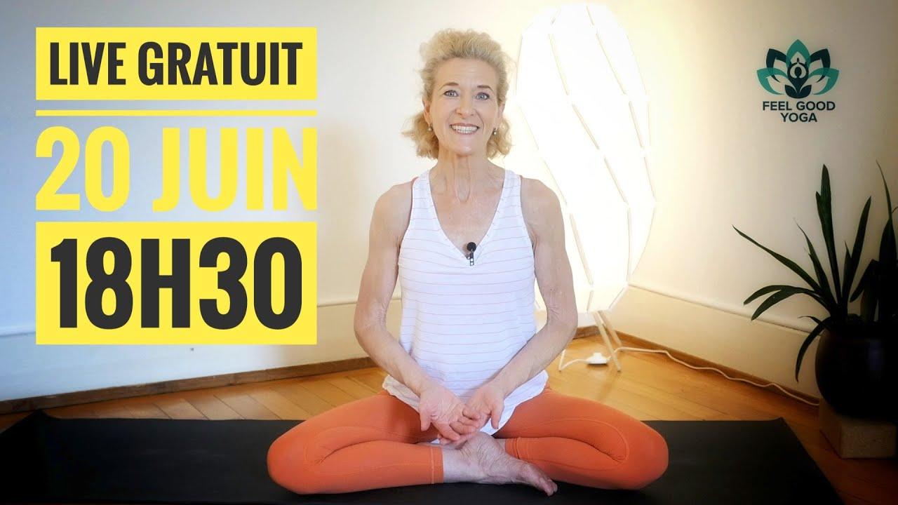 Je vous OFFRE un cours de yoga pour la journée Internationale du yoga !