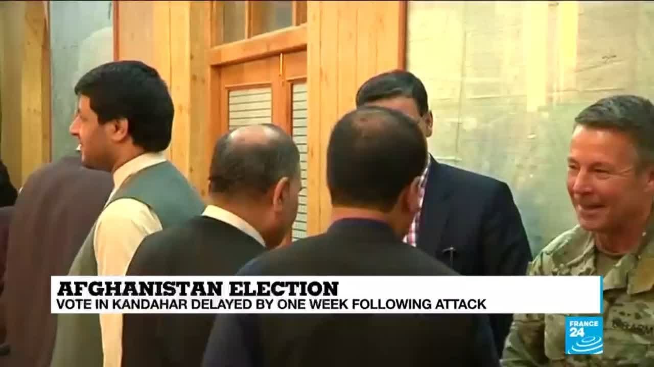 فرانس 24:Afghan elections ''riddled with organisational problems''