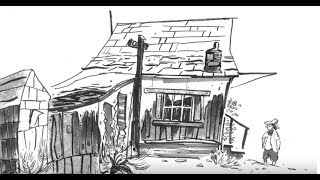 Drawing a GHOST TOWN!