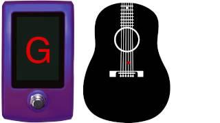 guitar tuner - double drop d