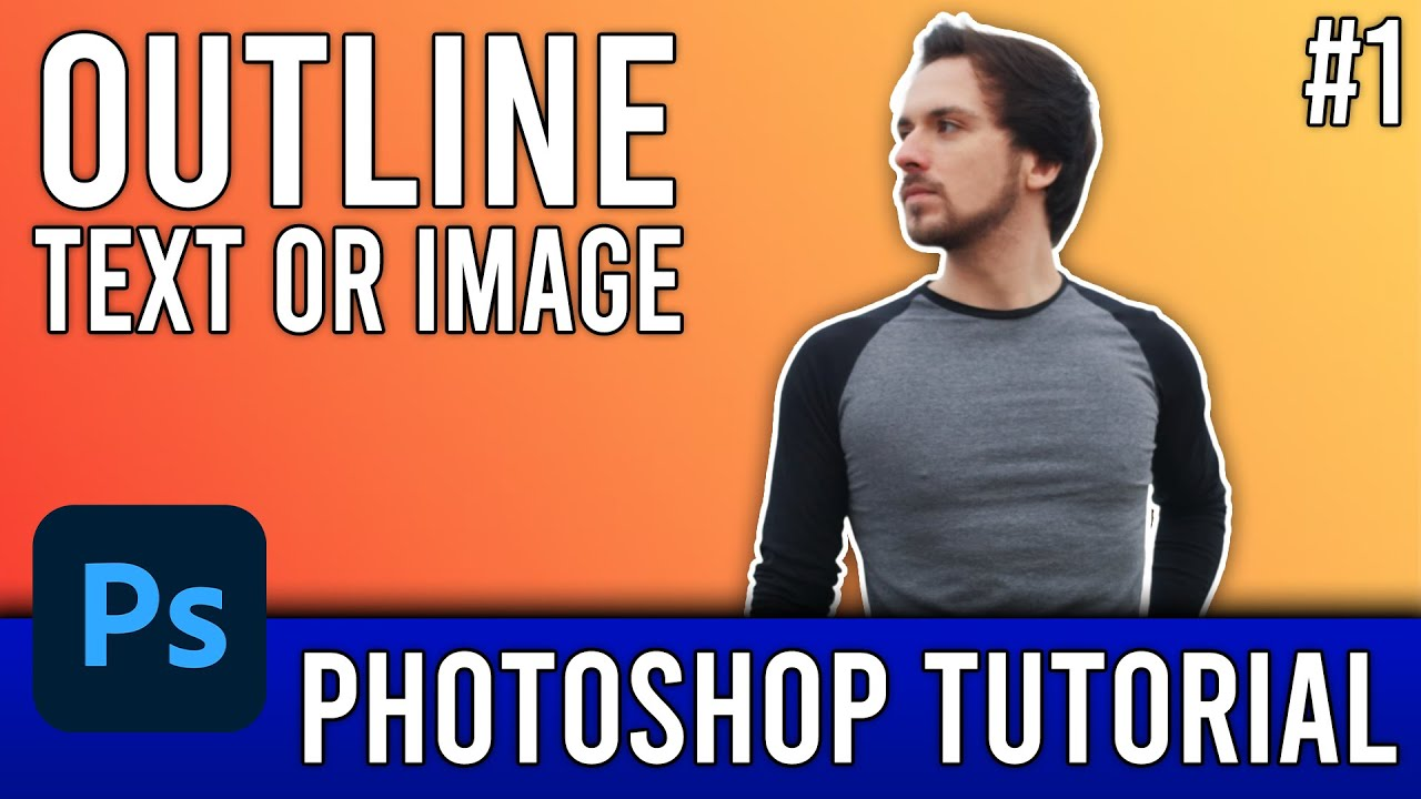 How to outline an image easily photoshop cs6 tutorial 1 youtube its youtube uninterrupted baditri Choice Image
