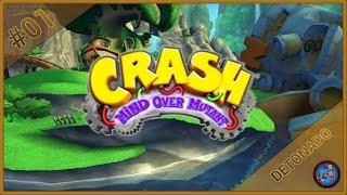 VAMOS JOGAR   Crash: Mind Over Mutant (PS2) #01   Missão 1