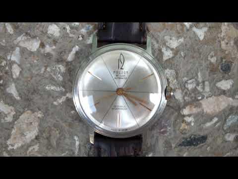 Vintage Poljot De Luxe 29 Jewels Shockproof Mechanical Automatic USSR Watch.