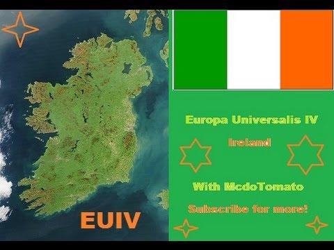 Europa Universalis IV - Let's Form Ireland! - Part 1