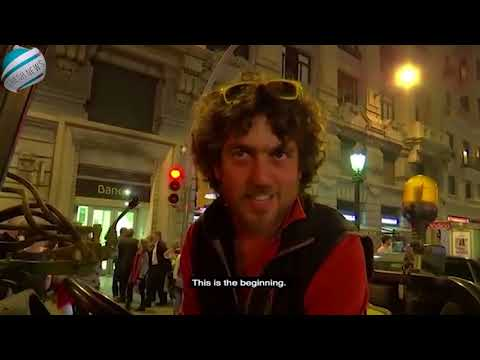 Tractors drive to central Barcelona to celebrate independence | Breaking News!
