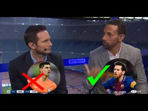 BARCELONA vs CHELSEA 3-0 [FULL POST MATCH ANALYSIS] RIO FERDINAND AND FRANC LAMPARD!