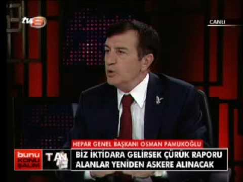 Osman PAMUKOĞLU / Tv 8 Bunu Konuşalım 5.Kısım / 2 Aralık 2009